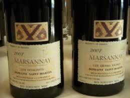 2007 marsannay echezots
