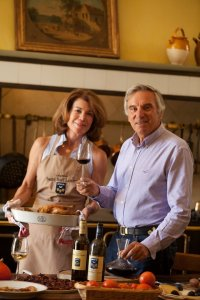 Florence and Daniel Cathiard of Ch. Smith Haut Lafitte