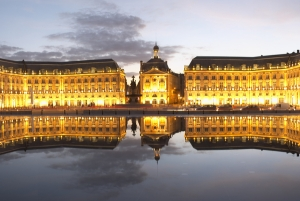 The Place de la Bourse in Bordeaux