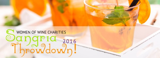 Please Join me at the Women of Wine's SANGRIATHROWDOWN